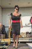 Koningin van Harten Chick Meet Royalty-vrije Stock Foto's