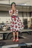 Koningin van Harten Chick Meet Stock Foto