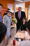 Koningin van Nederland - Beatrix royalty-vrije stock foto's