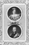 Koningin Victoria en Prins Albert royalty-vrije stock fotografie