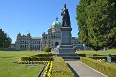 Koningin Victoria Statue Stock Fotografie