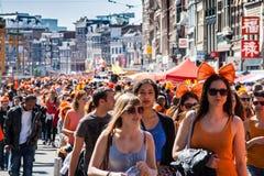 koninginnedag του 2012 Στοκ Εικόνες