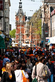 Koninginnedag 2011 Royalty Free Stock Photography