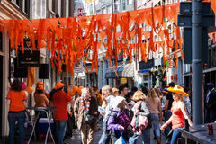 Koninginnedag 2012 Royalty Free Stock Image