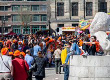 Koninginnedag 2012 Royalty Free Stock Photography