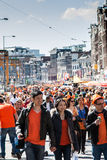 Koninginnedag 2012 Images stock