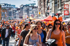 Koninginnedag 2012 Stock Images