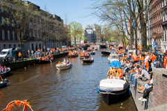 Koninginnedag 2012 Royalty Free Stock Images