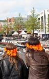Koninginnedag Amsterdão 2010 Fotografia de Stock