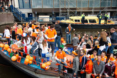 Koninginnedag Amsterdam 2010 Royalty Free Stock Photography