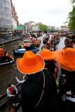 Koninginnedag Amsterdam 2010 Photographie stock