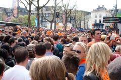 Koninginnedag Amsterdam 2010 Image libre de droits