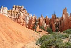 Koninginnen Garden Bryce Canyon Stock Foto
