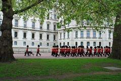 Koninginnen Irish Guards Stock Foto