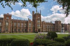 Koninginnen universitair Belfast Royalty-vrije Stock Afbeelding