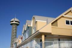 Koninginnen Wharf - Newcastle Royalty-vrije Stock Foto