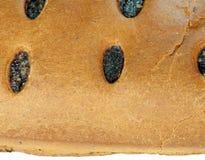 Koninginnenbrood met papaver royalty-vrije stock foto