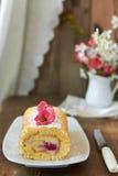 Koninginnenbrood met room Royalty-vrije Stock Fotografie