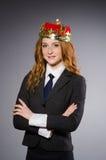 Koninginonderneemster Royalty-vrije Stock Fotografie
