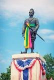 Konings u-Leren riem Monument. Thailand, Authaya stock fotografie