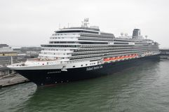 Koningsdam, Holland America Line. MS Koningsdam, Holland America Line cruise ship docked in Venice, Italy stock photography