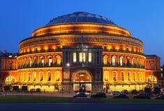 Koninklijk Albert Hall Royalty-vrije Stock Afbeeldingen