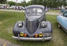 1938 Koninklijk de Auto vooraanzicht van Chrysler Stock Afbeelding