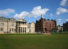 Koninklijk en Oud clubhuis, St Andrews Royalty-vrije Stock Afbeelding