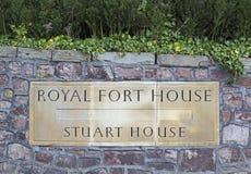 Koninklijk Forthuis royalty-vrije stock fotografie
