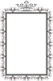 Koninklijk frame Royalty-vrije Stock Afbeelding