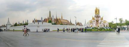 Koninklijk Groot Paleis in Bangkok Royalty-vrije Stock Foto's