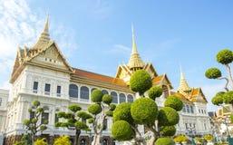 Koninklijk groot paleis in Bangkok. Royalty-vrije Stock Foto's