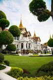 Koninklijk Groot Paleis in Bangkok Stock Foto's
