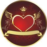Koninklijk hart Royalty-vrije Stock Afbeeldingen