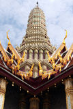 Koninklijk het paleisbeeldhouwwerk van Bangkok van Tayland van oud Royalty-vrije Stock Afbeeldingen
