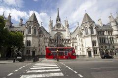 Koninklijk Hof van Justitie Londen Stock Foto's