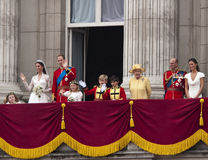 Koninklijk huwelijk Royalty-vrije Stock Foto's