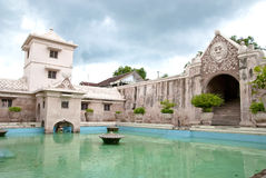 Koninklijk Kasteel Borobudur royalty-vrije stock afbeelding
