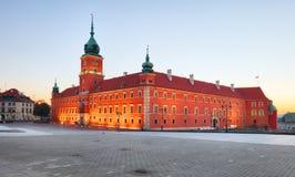 Koninklijk Kasteel in Warshau, Polen stock afbeelding