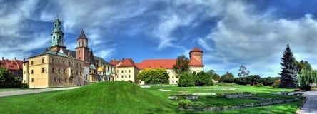 Koninklijk Kasteel Wawel Stock Fotografie