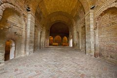 Koninklijk Klooster stock afbeelding