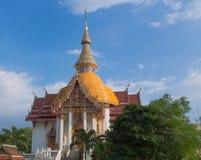 Koninklijk klooster Wat Chuai Mongkong in Pattaya royalty-vrije stock afbeeldingen