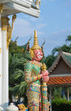 Koninklijk klooster Wat Chuai Mongkong (Pattaya, Thailand) stock foto's