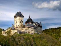 Koninklijk Middeleeuws Kasteel Stock Afbeeldingen