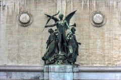 Koninklijk Museum van Beeldende kunsten - Brussel, België Stock Foto's