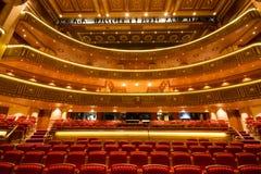 Koninklijk Operahuis in Muscateldruif, Oman Royalty-vrije Stock Foto