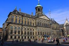 Koninklijk Paleis Amsterdam or Paleis op de Dam stock images