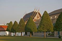Koninklijk paleis in Bangkok Stock Foto's