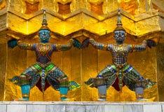 Koninklijk paleis in Bangkok Stock Afbeeldingen