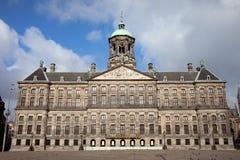 Koninklijk Paleis em Amsterdão Imagens de Stock Royalty Free
